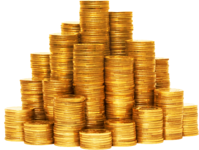 Coin Stack Png PNG Images