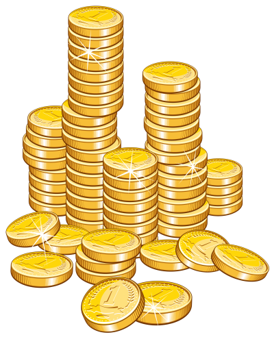 Coin Stack Transparent Image PNG Images