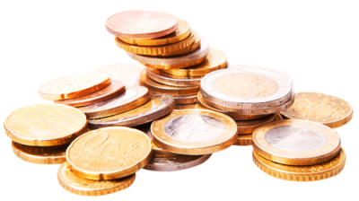 Golden Coins Transparent Picture PNG Images
