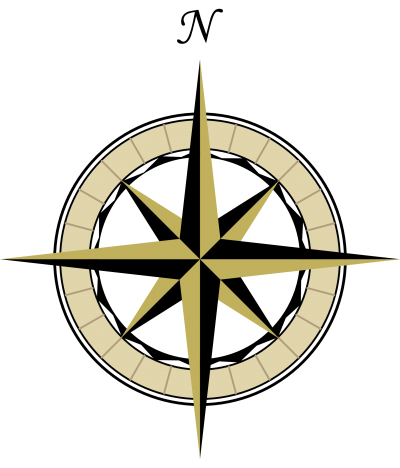 Compass Map Clipart PNG Images