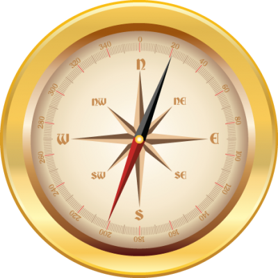 Gold Compass Png Images PNG Images