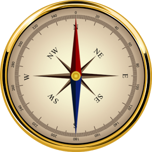 Gold Compass Png Pic PNG Images