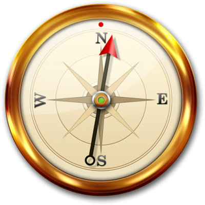 Gold Transparent Compass Png PNG Images