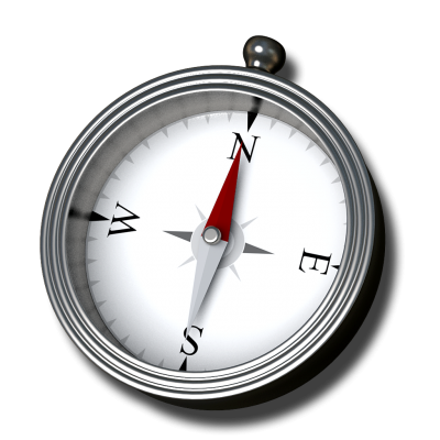 Grey Compass Png PNG Images