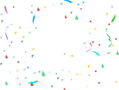 Confetti Transparent Images