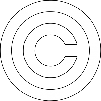 Copyright Symbol Cut Out Png PNG Images