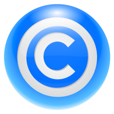 Copyright Symbol Cut Out