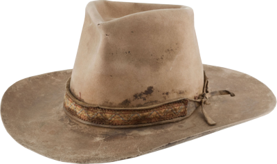 Old Simple Cowboy Hat Png PNG Images