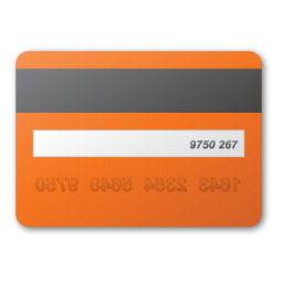 Credit Card Back View Clipart HD