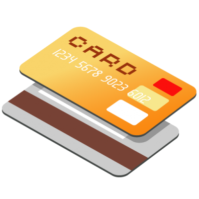 Credit Card Orange High Quality PNG PNG Images