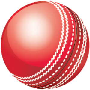 Cricket Ball Vector PNG Images