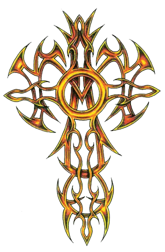 Clipart Cross Tattoos Photo PNG Images