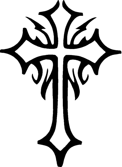Cross Tattoos Background