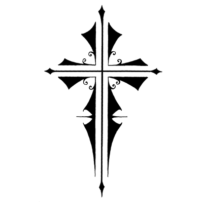 Cross Tattoos Transparent Clipart PNG Images