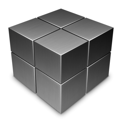 Black Cube Pattern Transparent PNG Images
