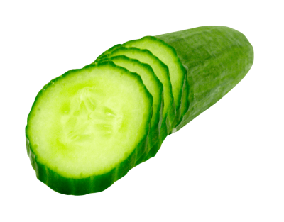 Slice Cucumber Image PNG Images