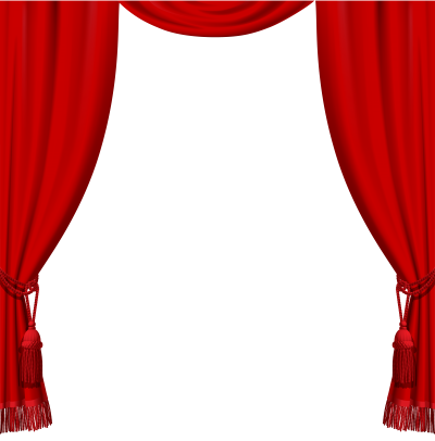 Red And White, Curtains Png Images PNG Images