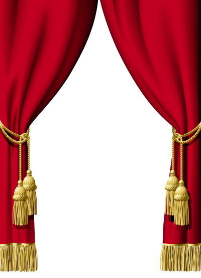 Red Curtain Png Transparent Images