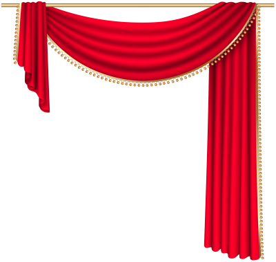 Red Curtain Transparent Png Image PNG Images