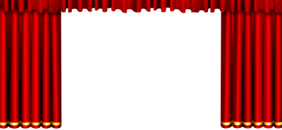 Spectacular Red Curtain Png PNG Images