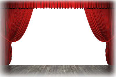 Stage Curtains Png Photo