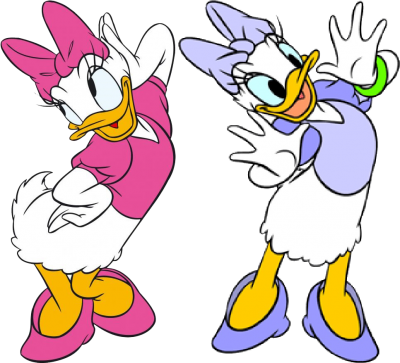 Daisy Duck Png Transparent