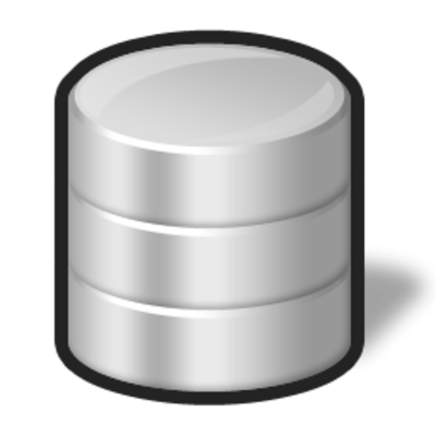 Gray Database Transparent PNG Images
