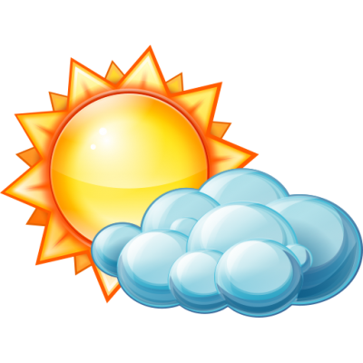 Partly Cloudy Day icon Daylight Pictures PNG Images