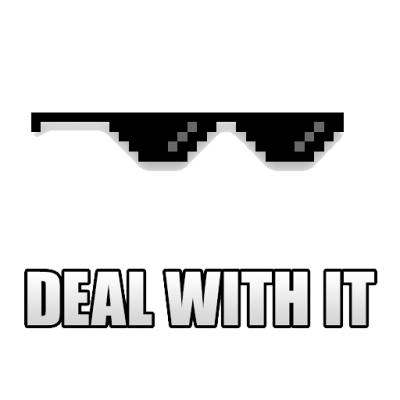 Download Deal With It PNG Images
