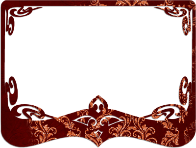 Brown Decorative Border Transparent Image PNG Images