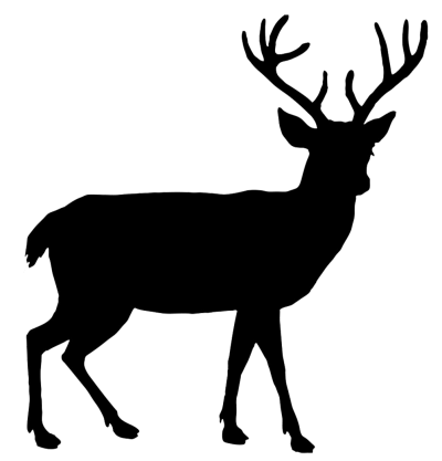 Deer Outline Free Cut Out PNG Images
