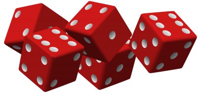 Red Dice Clipart Transparent PNG Images