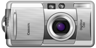 Digital Camera Transparent