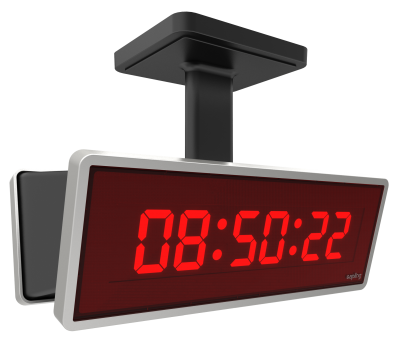 Simple Digital Clock PNG Images