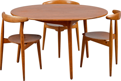 Simple Dining Table, Table For 3 People Png PNG Images
