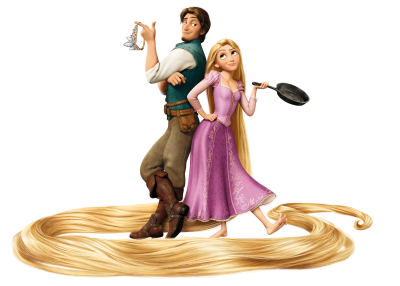 Gold Girl And Man Disney Pascal Pictures
