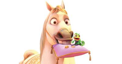 White Horse, Pink Bag Disney Pascal Pictures PNG Images