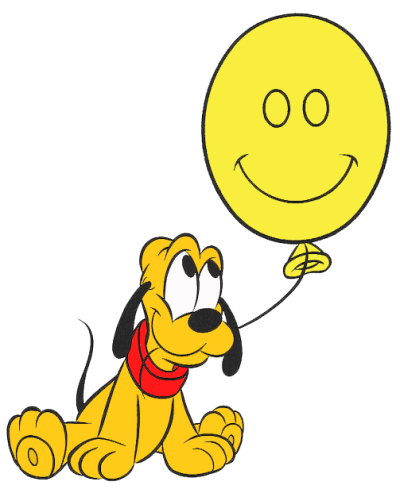 Cute Baby Pluto Clipart Pic PNG Images