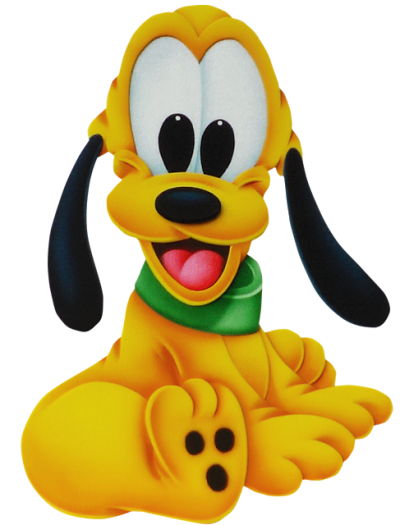 Cute Pluto Disney Png PNG Images