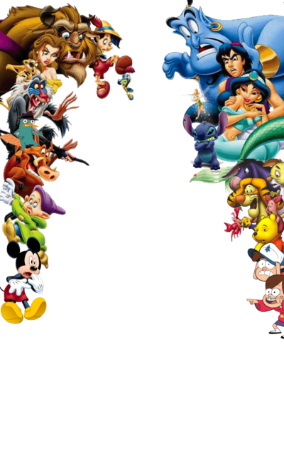 Disney Frame Cut Out PNG Images