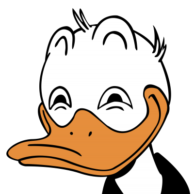 Upset Donald Duck Png Image PNG Images