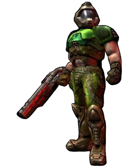 Doom Character Clipart Photo PNG Images