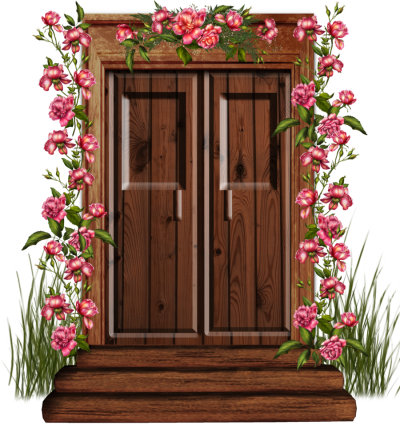 Cartoon Door Clipart Png