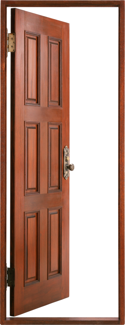 Dark Open Door Png