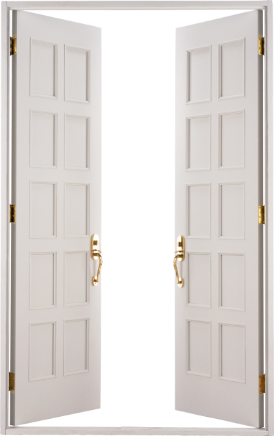 Grey Open Door Png