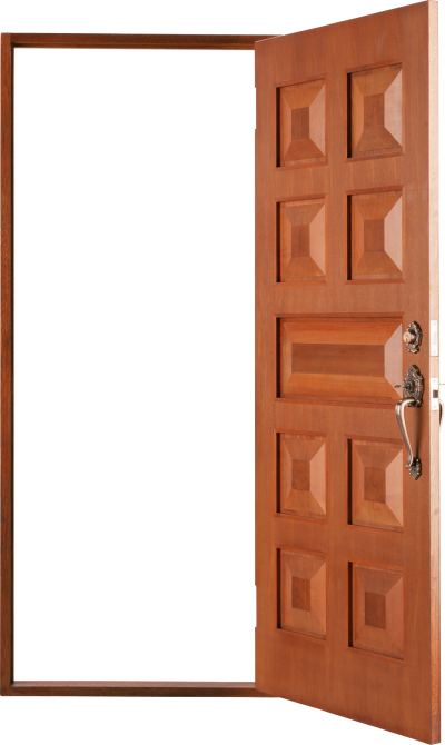 Open Door House Png PNG Images