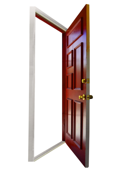 Red Door Opening Empty Png PNG Images