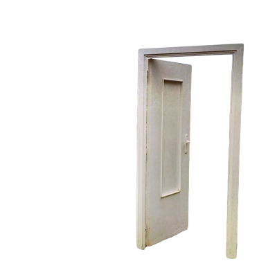 White Metal, Open Door Png PNG Images