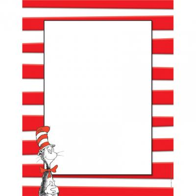 Dr Seuss Border Frame Picture PNG Images