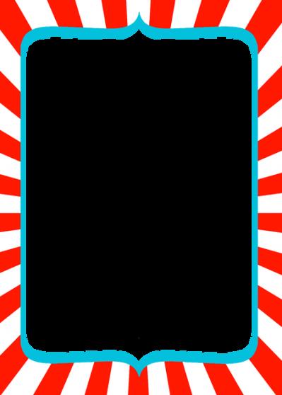 download dr seuss border dots frame 16346 transparentpng